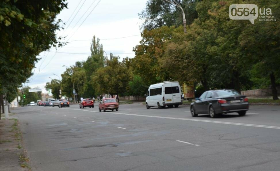 В Саксаганском районе Кривого Рога ремонтируют разбитый участок дороги (ФОТО), фото-5