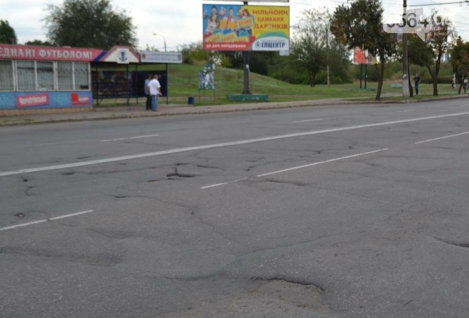 В Саксаганском районе Кривого Рога ремонтируют разбитый участок дороги (ФОТО), фото-18