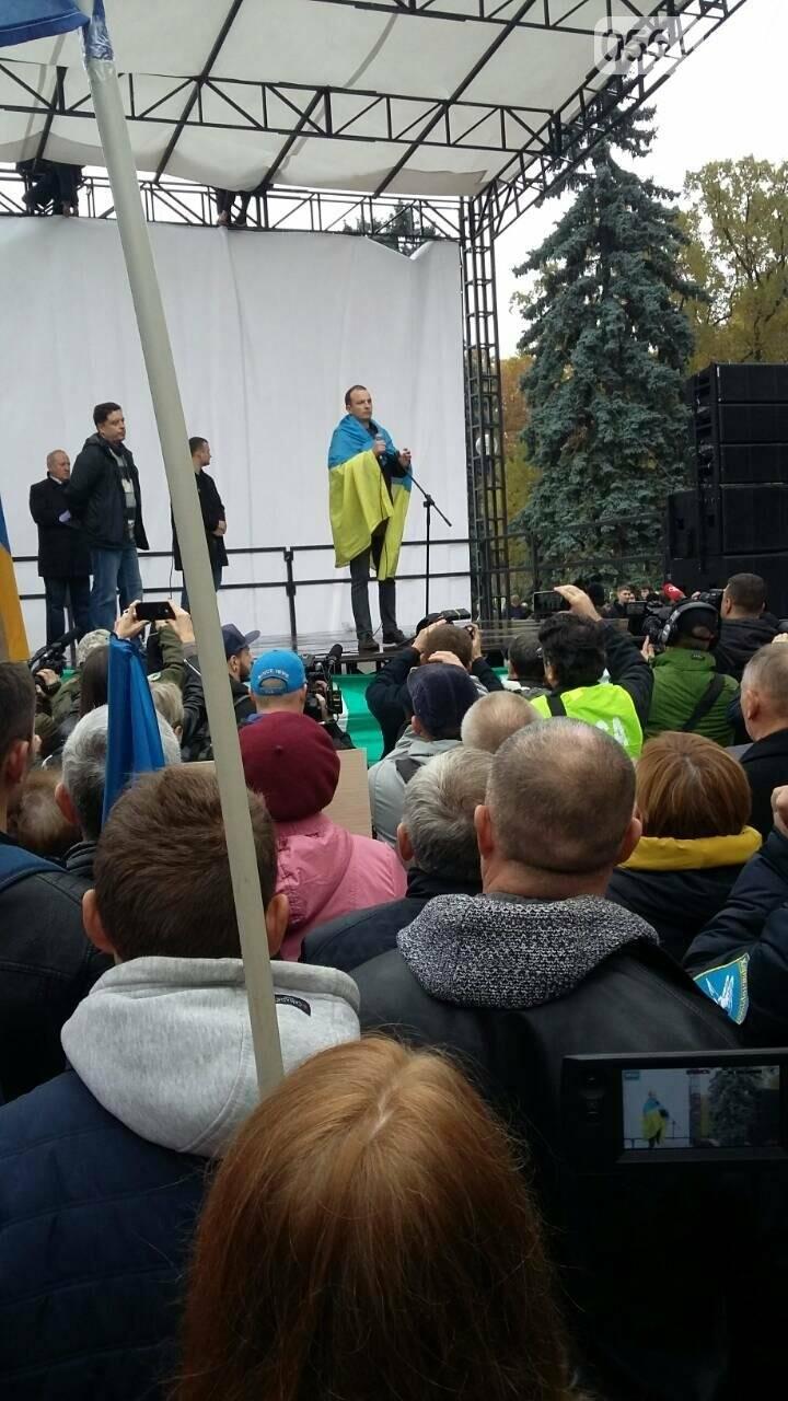 "Криворожане митингуют перед Верховной Радой ""за политреформу"" (ФОТО), фото-6"