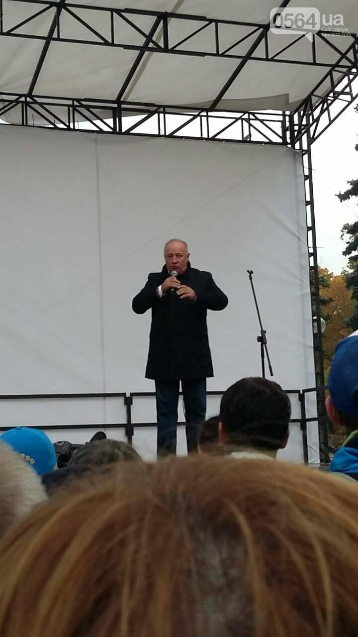 "Криворожане митингуют перед Верховной Радой ""за политреформу"" (ФОТО), фото-4"