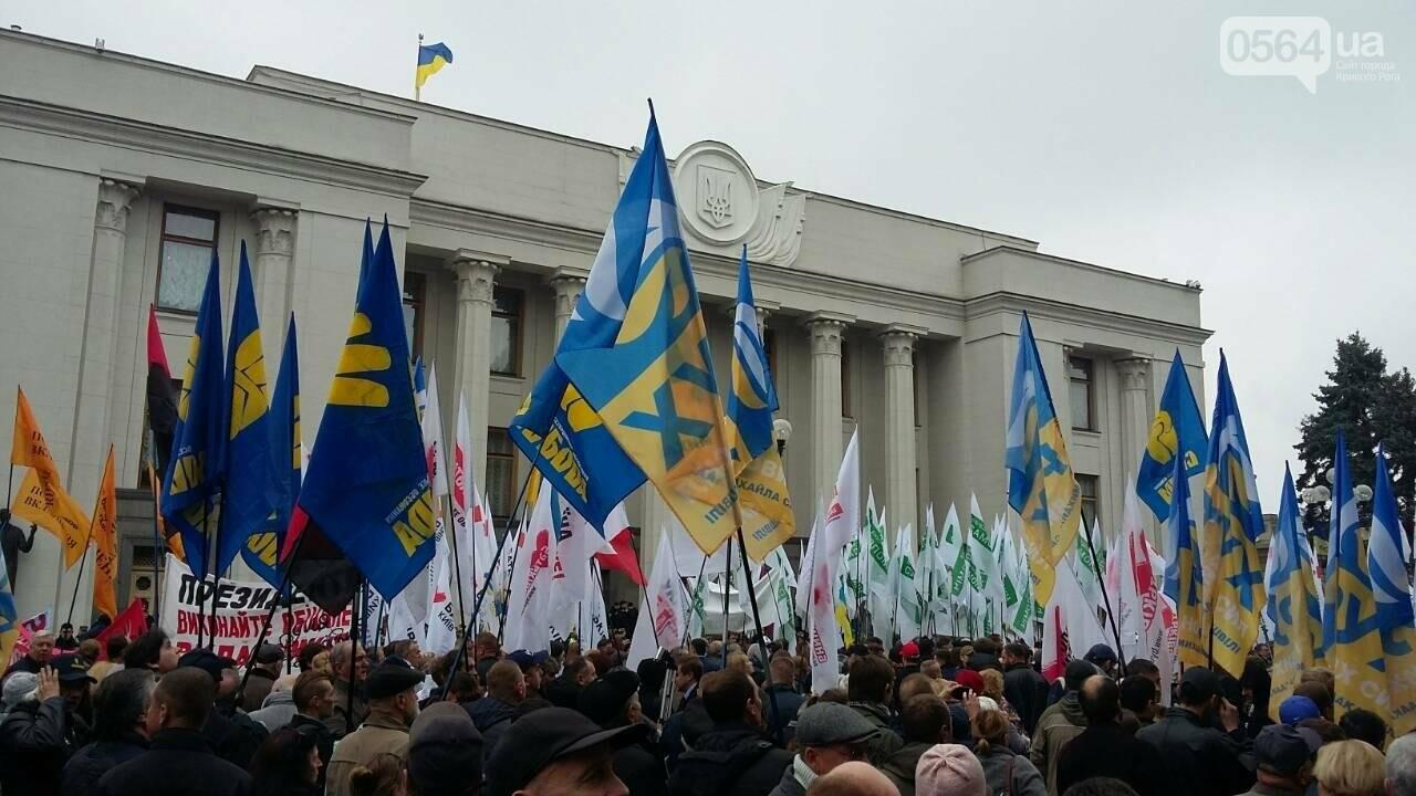 "Криворожане митингуют перед Верховной Радой ""за политреформу"" (ФОТО), фото-7"