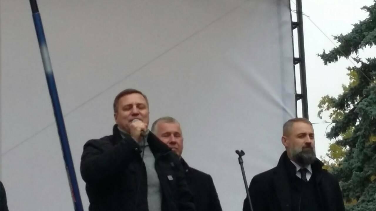 "Криворожане митингуют перед Верховной Радой ""за политреформу"" (ФОТО), фото-10"