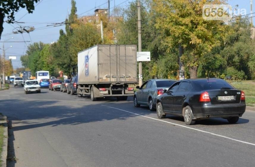 В Кривом Роге  Volvo и  BMW парализовали движение транспорта (ФОТО), фото-2