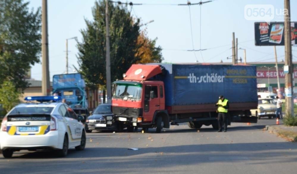 В Кривом Роге  Volvo и  BMW парализовали движение транспорта (ФОТО), фото-5