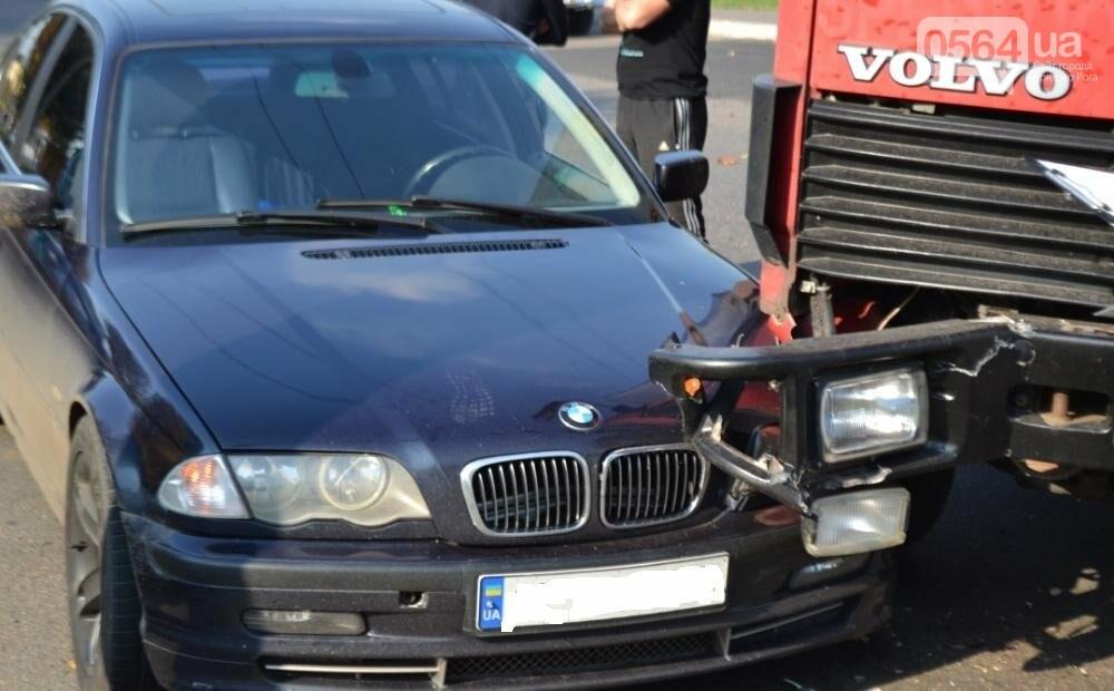В Кривом Роге  Volvo и  BMW парализовали движение транспорта (ФОТО), фото-7