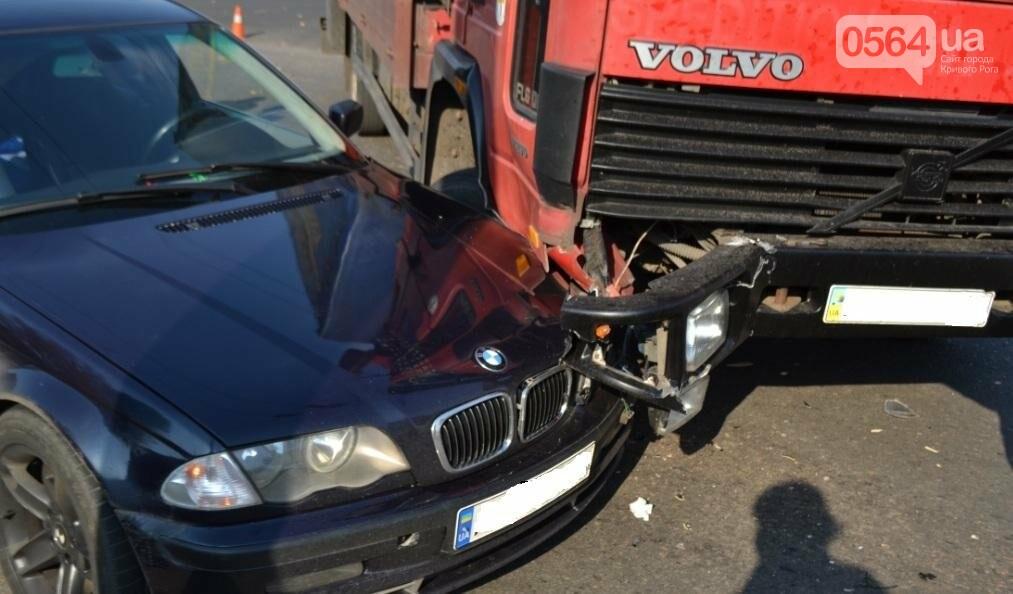В Кривом Роге  Volvo и  BMW парализовали движение транспорта (ФОТО), фото-8