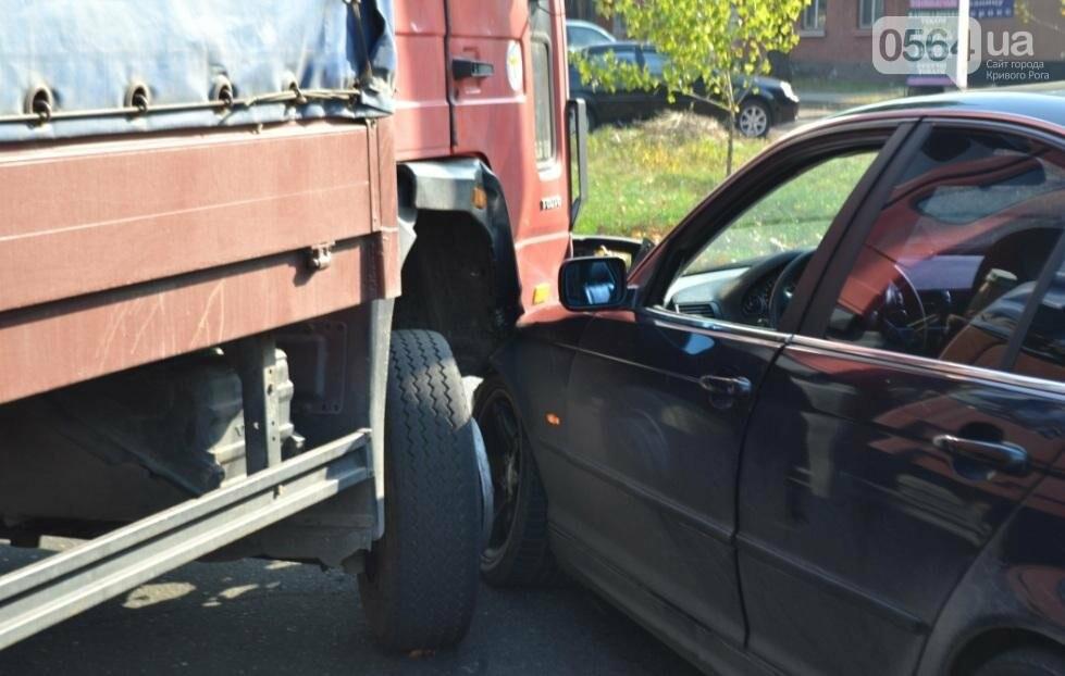 В Кривом Роге  Volvo и  BMW парализовали движение транспорта (ФОТО), фото-12