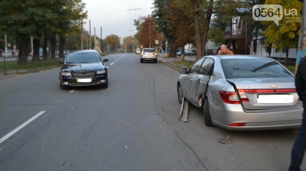 Из-за внезапно вильнувшего автомобиля криворожанин разбил две иномарки (ФОТО), фото-9