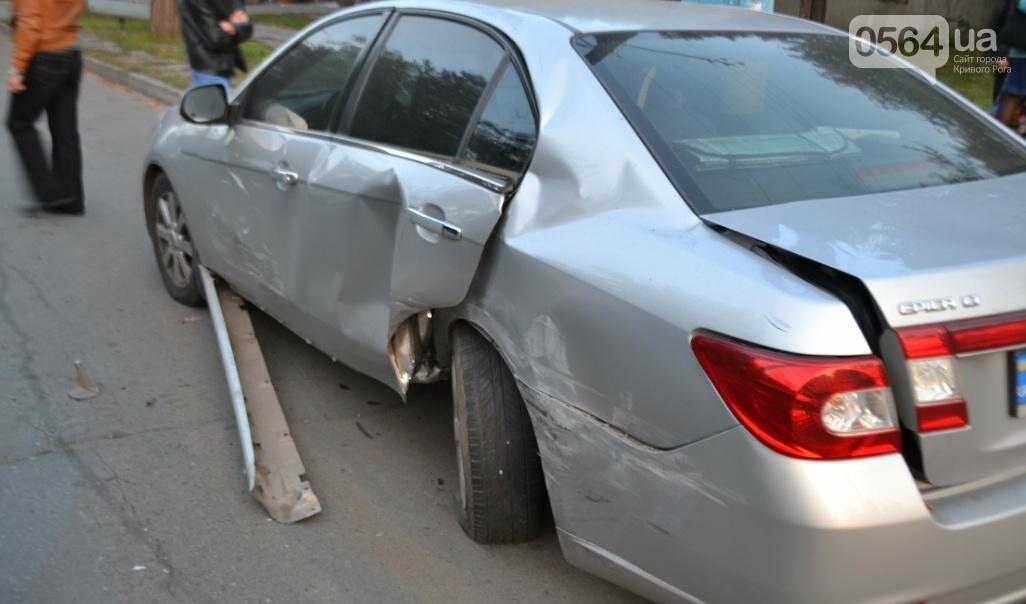 Из-за внезапно вильнувшего автомобиля криворожанин разбил две иномарки (ФОТО), фото-8