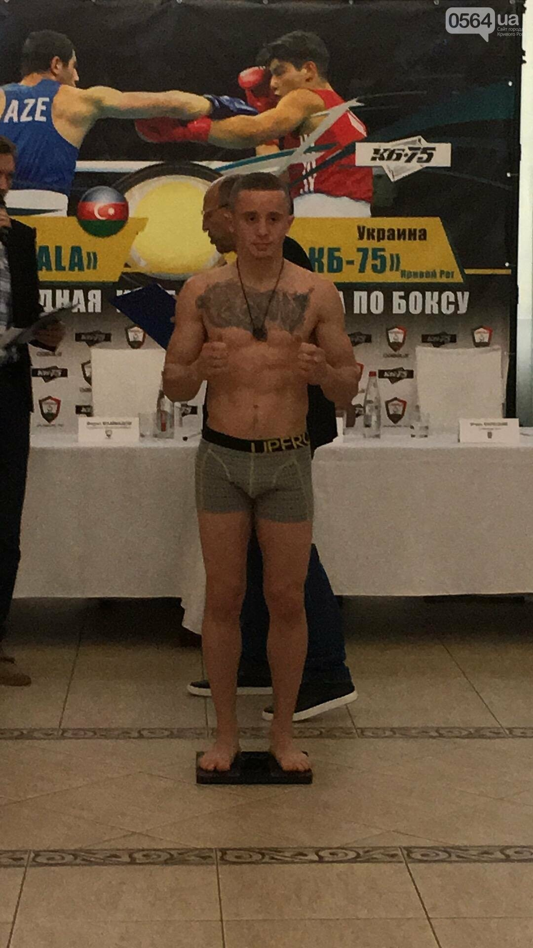Перед вечером грандиозного бокса в Кривом Роге спортсмены показали отличную физическую форму (ФОТО, ВИДЕО), фото-24