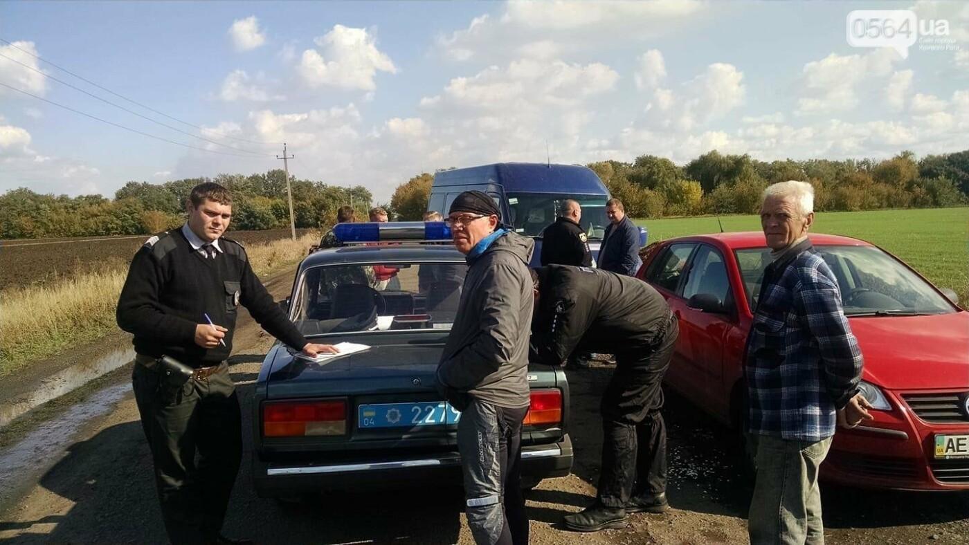Полиция выясняет, кто средь бела дня ворует трубы в Криворожском районе , фото-1