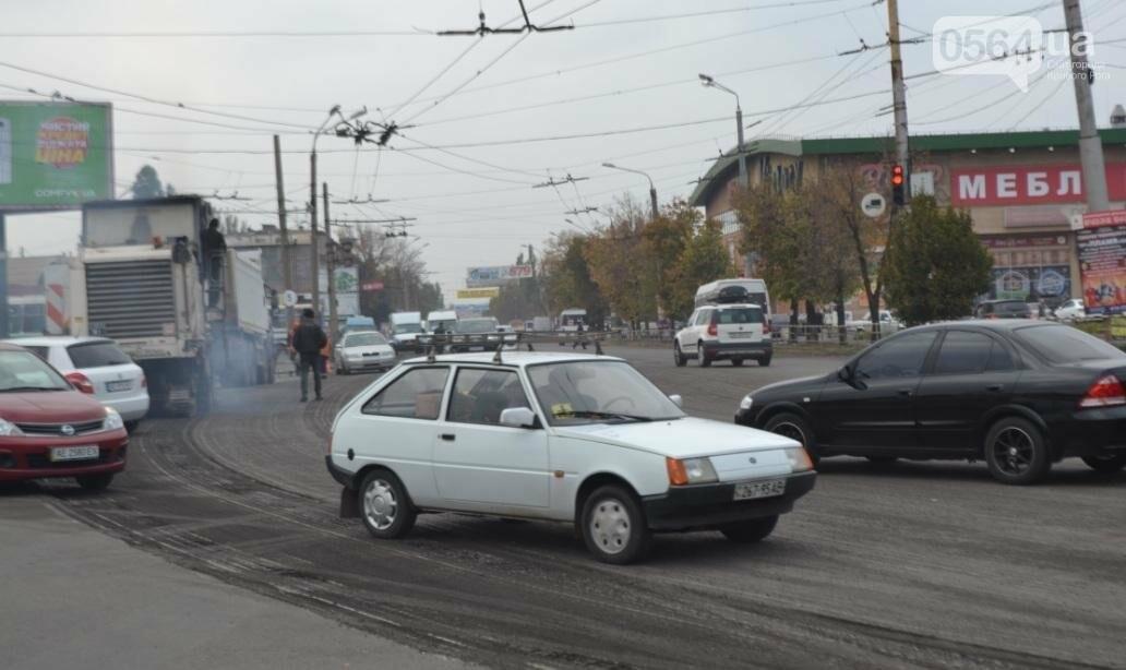 В Кривом Роге ремонтируют участок автодороги на центральном проспекте (ФОТО), фото-8