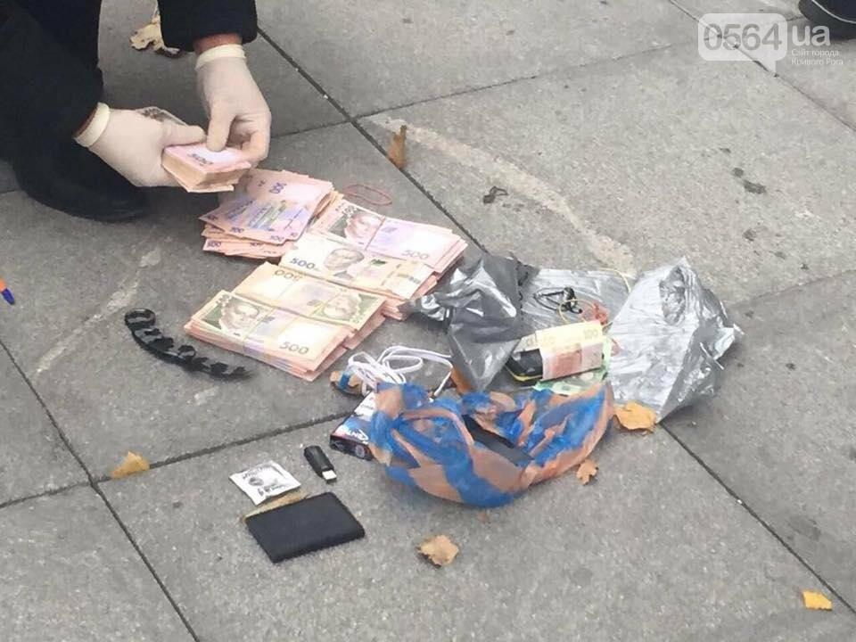 На Днепропетровщине за вымогательство задержали двух подполковников полиции и налоговика (ФОТО, ВИДЕО), фото-1