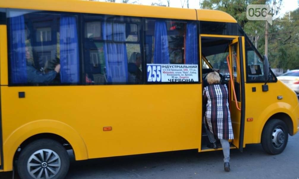 """""""Третий участок"""": Несмотря на """"гибридный"""" троллейбус, криворожане продолжают """"штурмовать"""" маршрутки (ФОТО), фото-3"""
