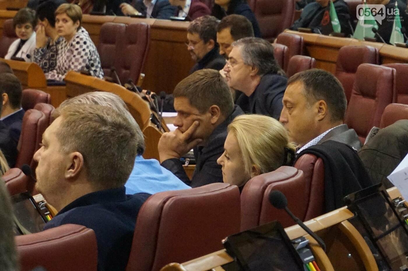 В Кривом Роге началась сессия. Впервые после обысков появилась Ольга Бабенко (ФОТО), фото-7