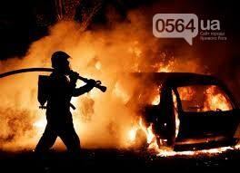 В Кривом Роге: трамвай перерезал женщине ногу, дерево рухнуло на авто, сгорели 2 машины, фото-3