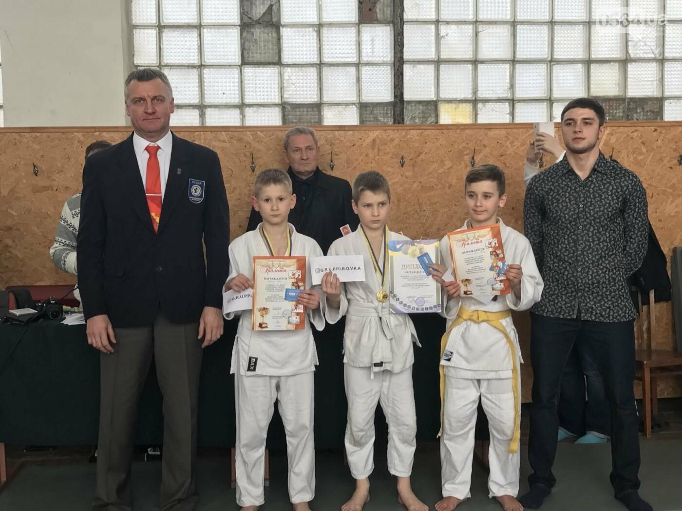 Юные дзюдоисты Кривого Рога успешно выступили на Новогоднем турнире (ФОТО), фото-14