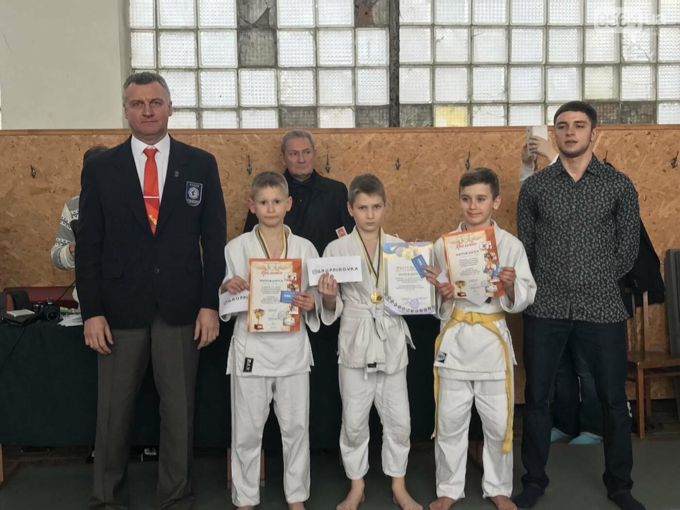 Юные дзюдоисты Кривого Рога успешно выступили на Новогоднем турнире (ФОТО), фото-13