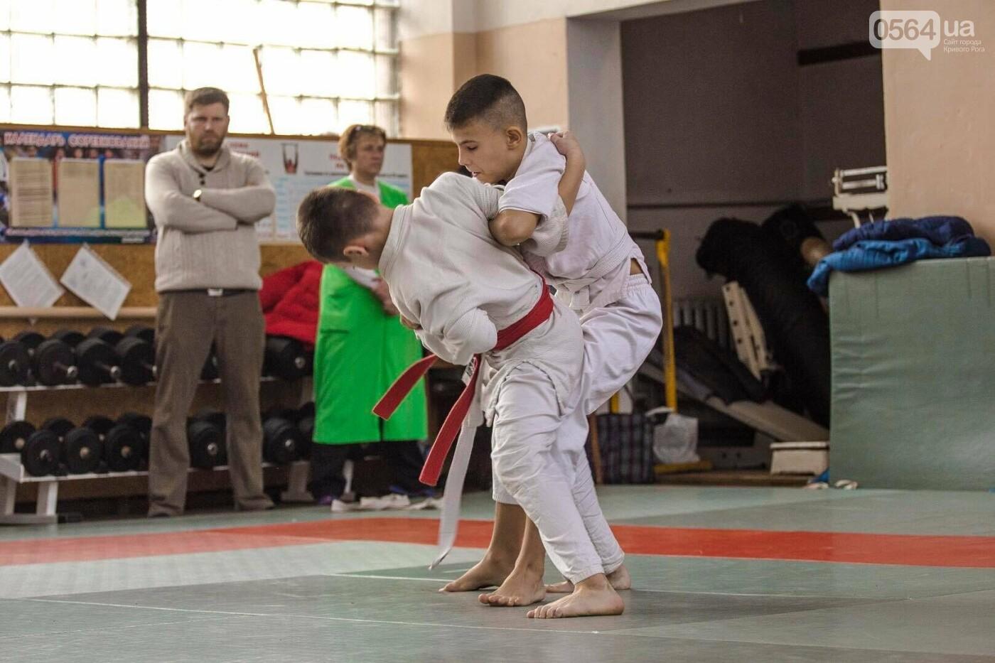 Юные дзюдоисты Кривого Рога успешно выступили на Новогоднем турнире (ФОТО), фото-9