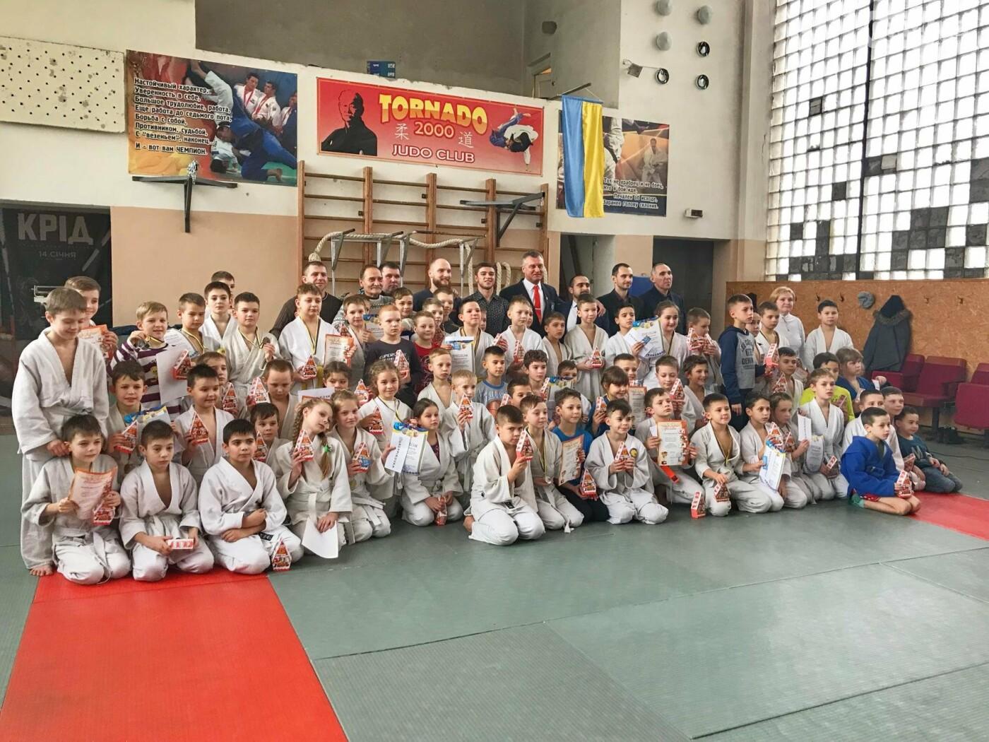Юные дзюдоисты Кривого Рога успешно выступили на Новогоднем турнире (ФОТО), фото-15