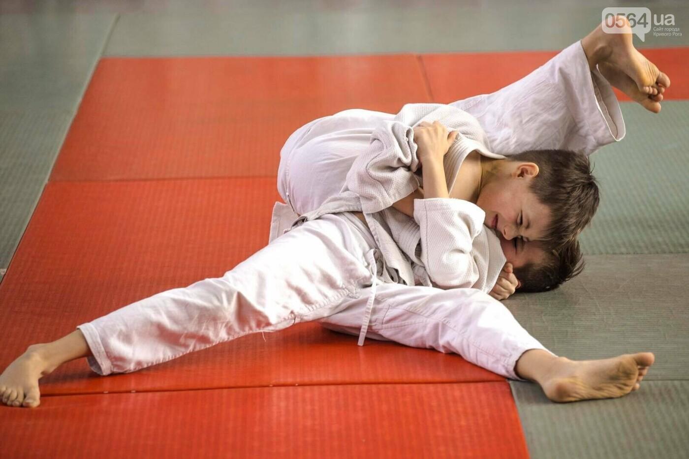 Юные дзюдоисты Кривого Рога успешно выступили на Новогоднем турнире (ФОТО), фото-3