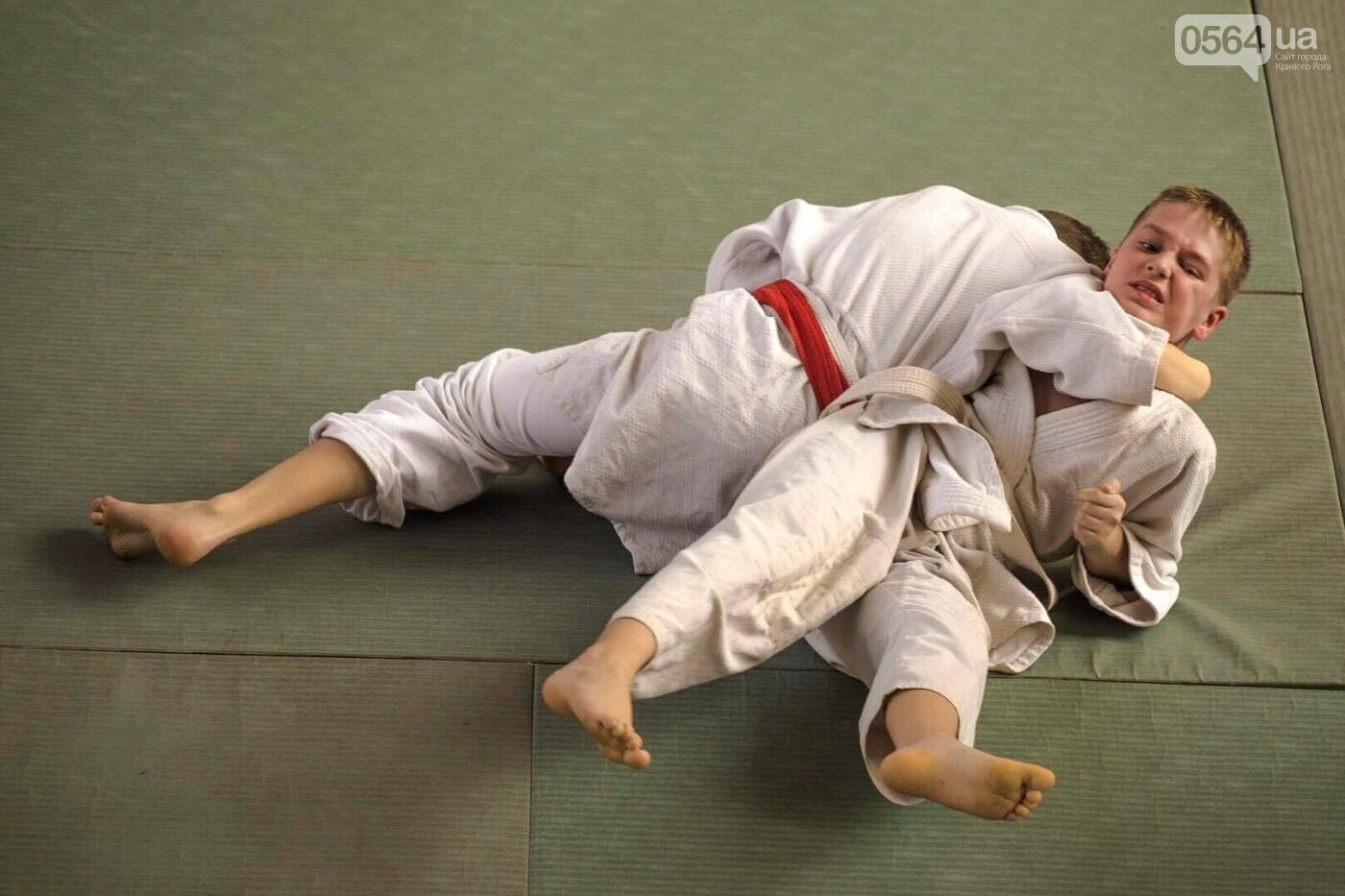 Юные дзюдоисты Кривого Рога успешно выступили на Новогоднем турнире (ФОТО), фото-6