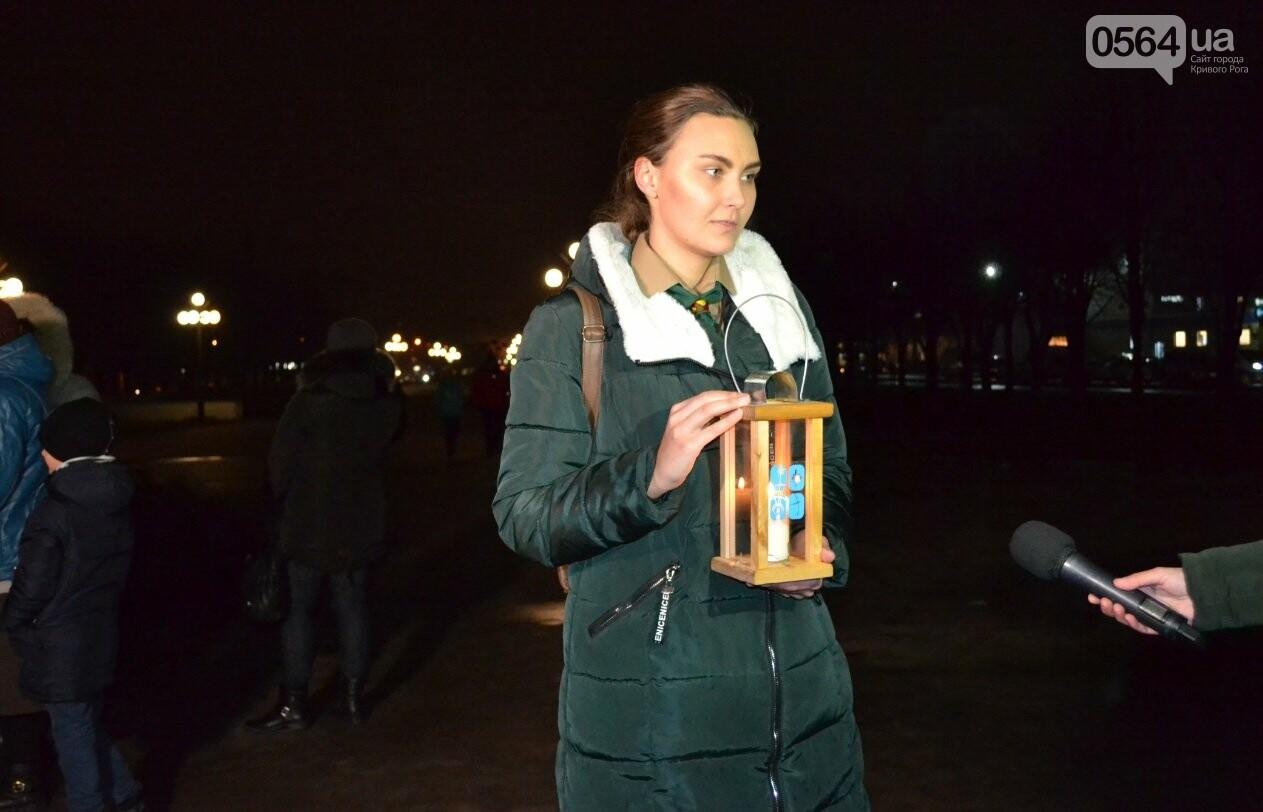 Перед Рождеством пластуны передали Вифлеемский огонь жителям Кривого Рога и Херсонщины (ФОТО), фото-13