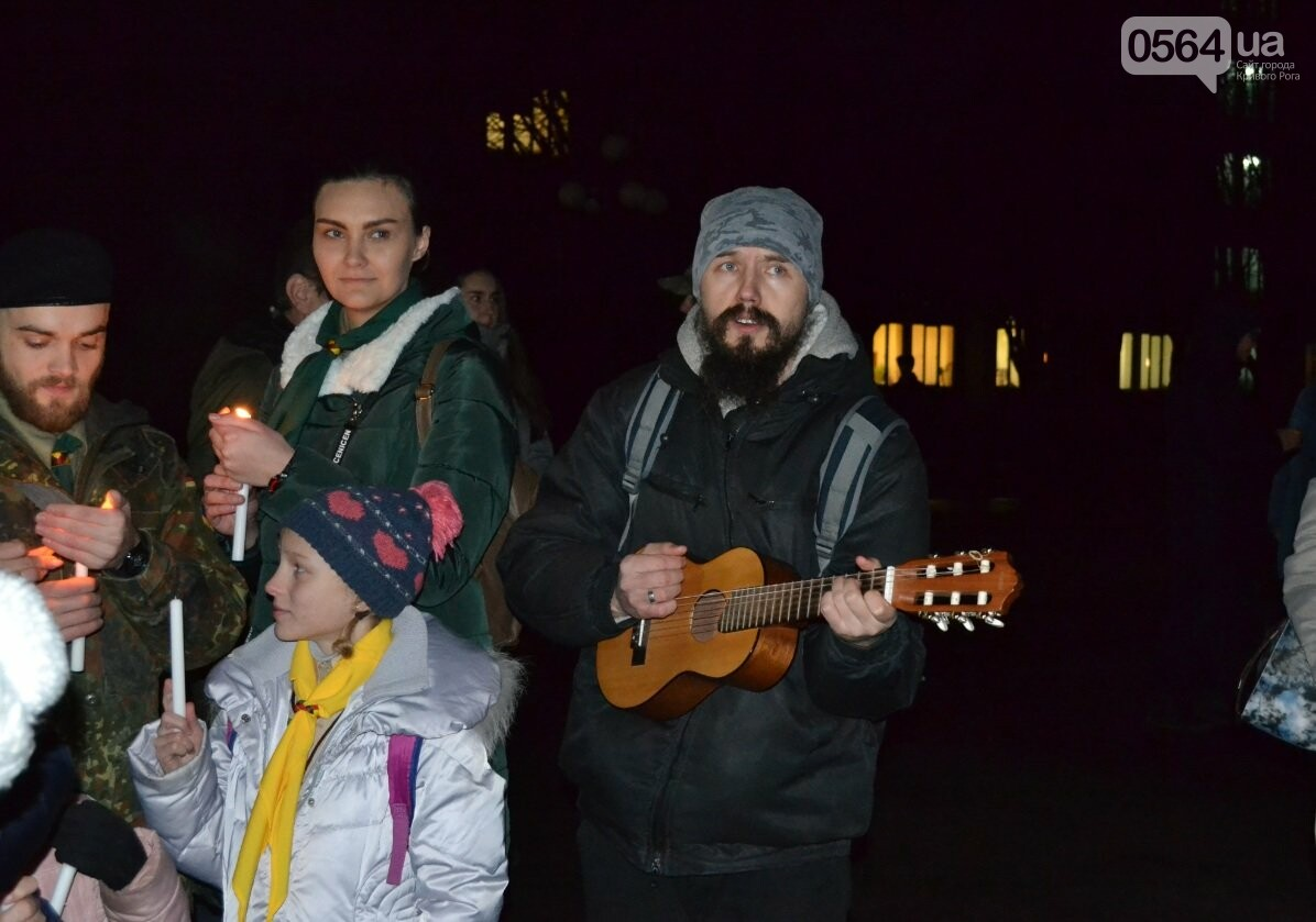 Перед Рождеством пластуны передали Вифлеемский огонь жителям Кривого Рога и Херсонщины (ФОТО), фото-17