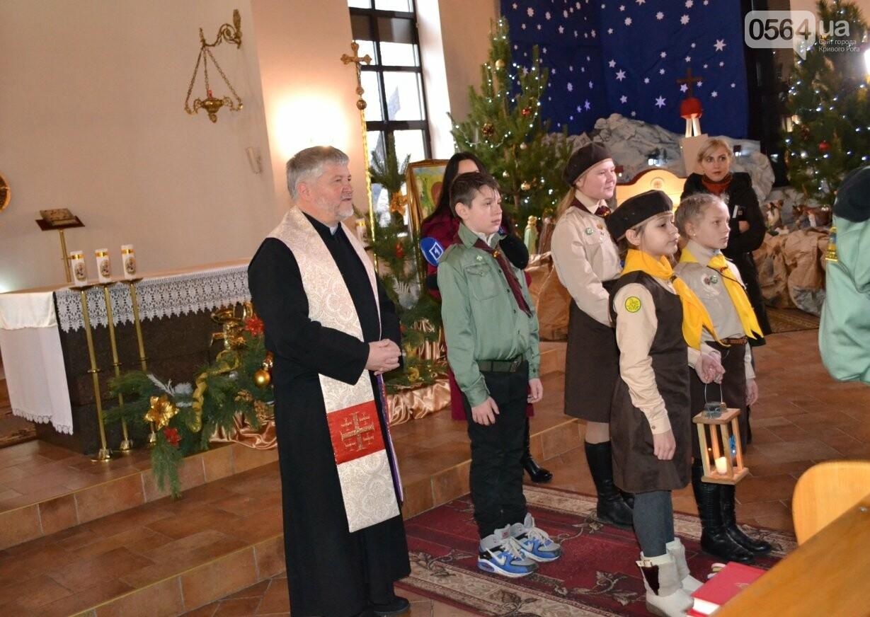 Перед Рождеством пластуны передали Вифлеемский огонь жителям Кривого Рога и Херсонщины (ФОТО), фото-3