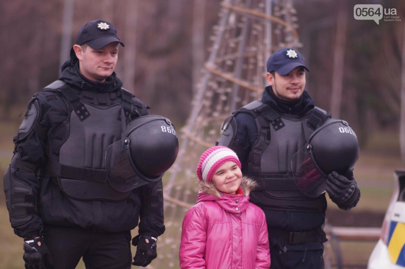 Встреча криворожских полицейских с детьми закончилась преждевременно (ФОТО), фото-6