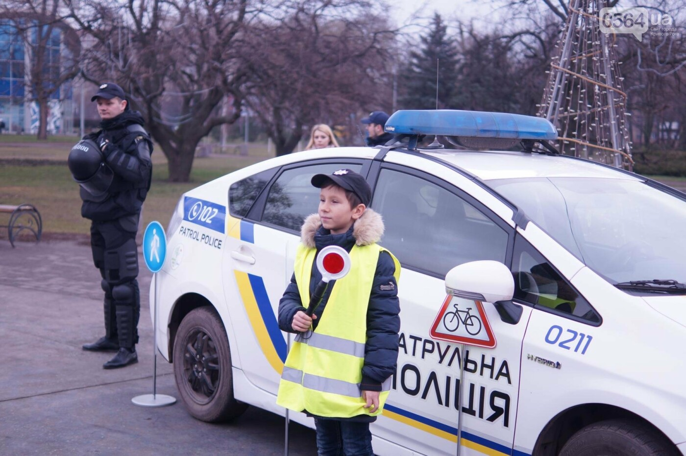 Встреча криворожских полицейских с детьми закончилась преждевременно (ФОТО), фото-22