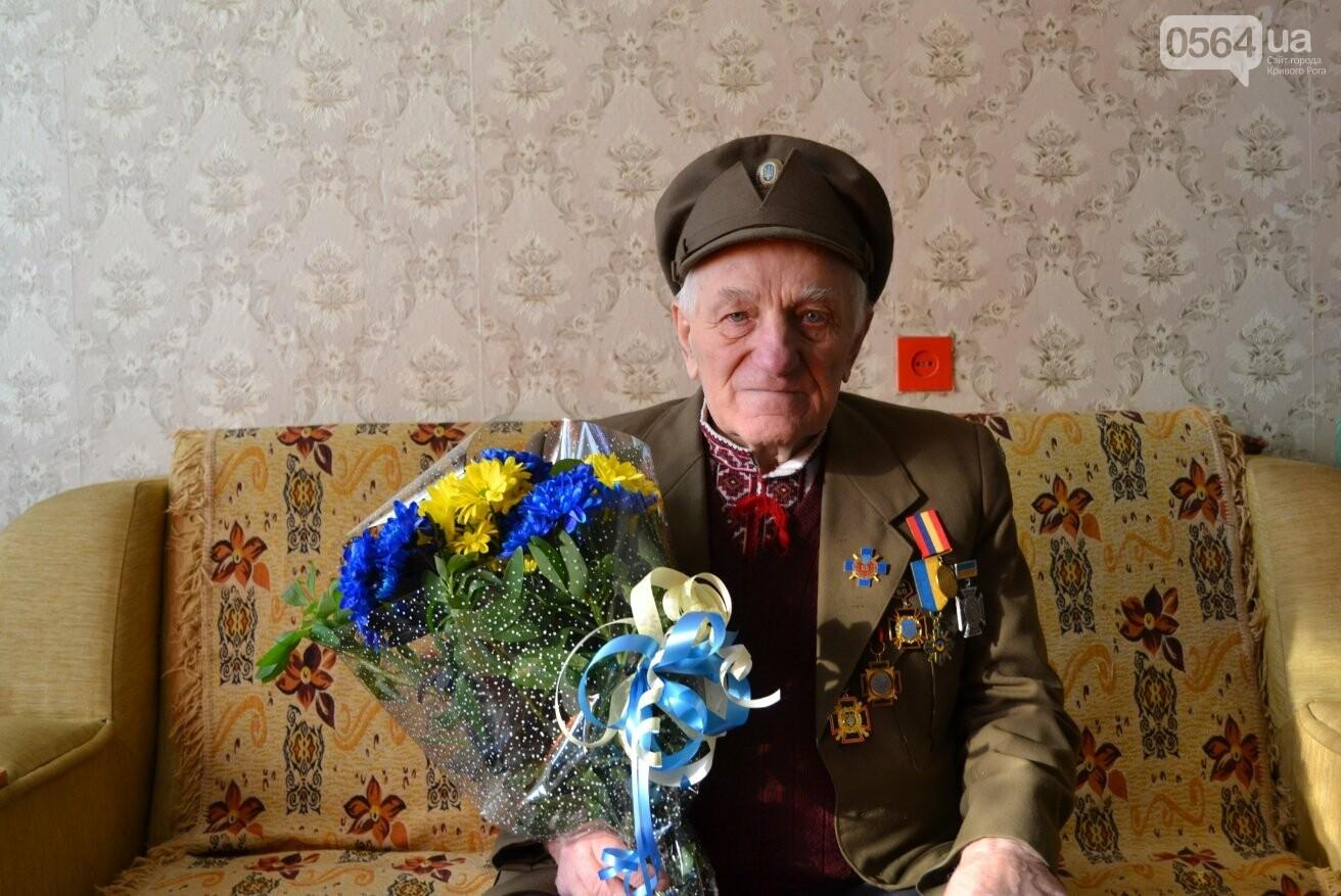 Ветеран УПА из Кривого Рога сегодня отмечает 90-летний юбилей в кругу друзей-патриотов (ФОТО), фото-6