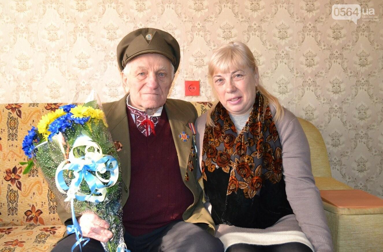 Ветеран УПА из Кривого Рога сегодня отмечает 90-летний юбилей в кругу друзей-патриотов (ФОТО), фото-7