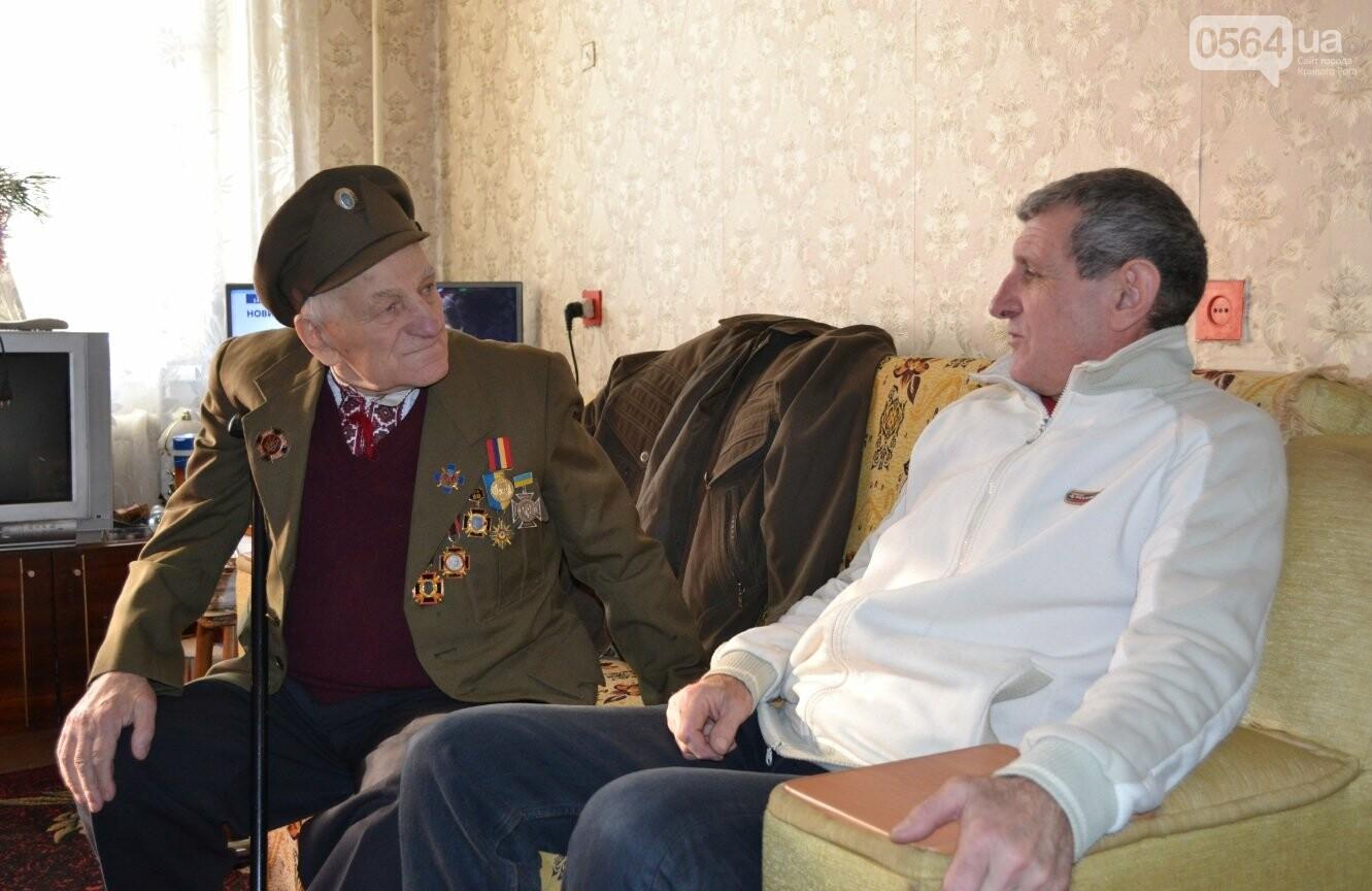 Ветеран УПА из Кривого Рога сегодня отмечает 90-летний юбилей в кругу друзей-патриотов (ФОТО), фото-1