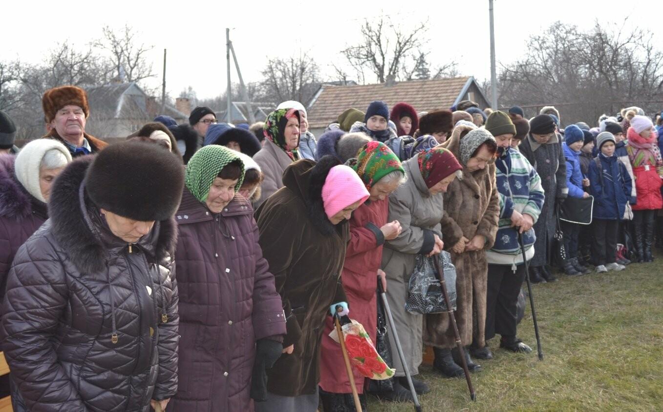 На Криворожье на месте разрушенного большевиками храма открыли памятный знак (ФОТО, ВИДЕО), фото-14