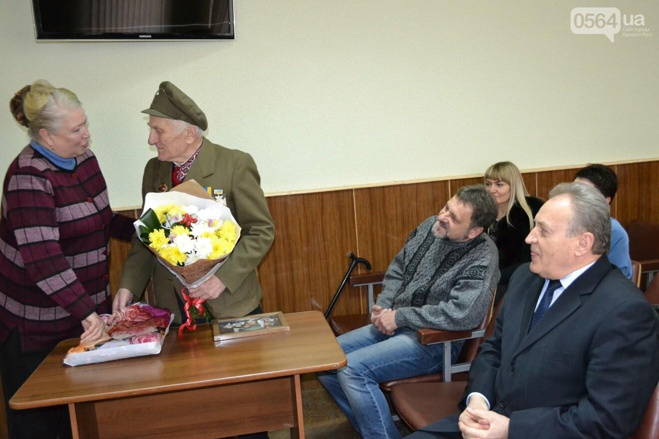 Впервые в истории независимой Украины власть Кривого Рога чествует ветерана УПА (ФОТО, ВИДЕО), фото-11