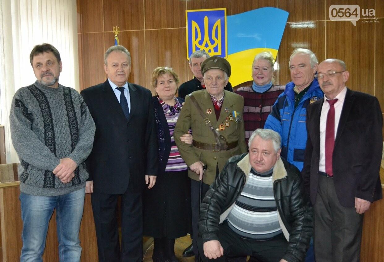 Впервые в истории независимой Украины власть Кривого Рога чествует ветерана УПА (ФОТО, ВИДЕО), фото-8
