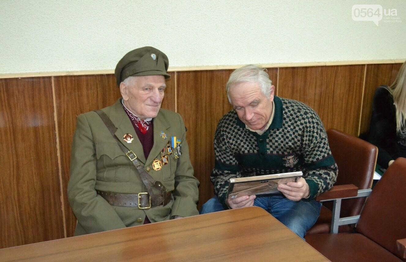 Впервые в истории независимой Украины власть Кривого Рога чествует ветерана УПА (ФОТО, ВИДЕО), фото-15