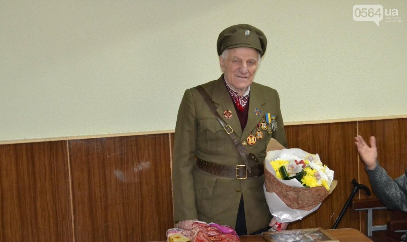 Впервые в истории независимой Украины власть Кривого Рога чествует ветерана УПА (ФОТО, ВИДЕО), фото-3