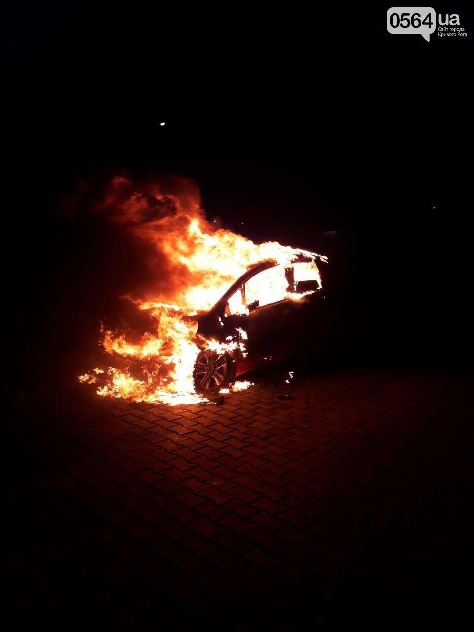 В Кривом Роге: избили патрульного, согжгли авто, подняли тариф на отопление , фото-3