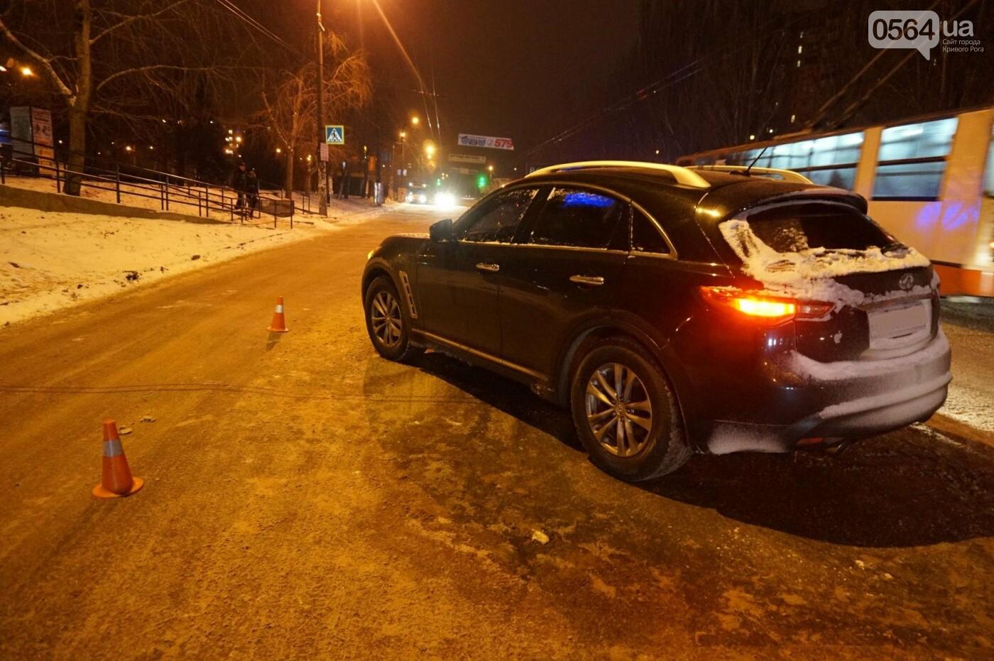 ДТП в Кривом Роге: Перед пешеходным переходом столкнулись ВАЗ и Инфинити (ФОТО), фото-5