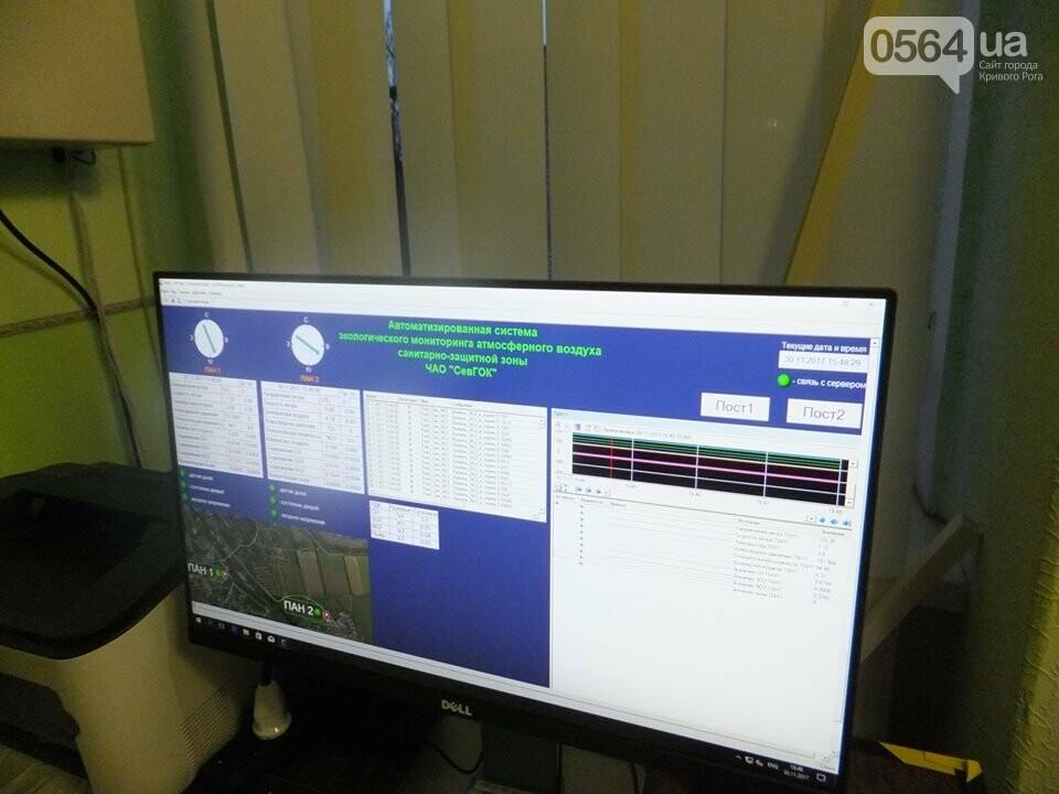 На всех предприятиях Метинвеста в Кривом Роге установлены системы экологического контроля за состоянием воздуха, фото-3