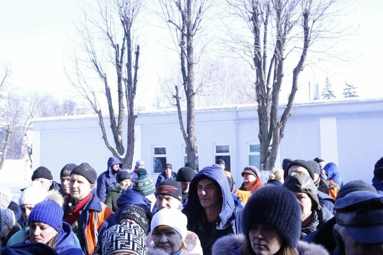 В Кривом Роге сотрудники КПВС митингуют, опасаясь, что город останется без воды  (ФОТО, ВИДЕО), фото-8