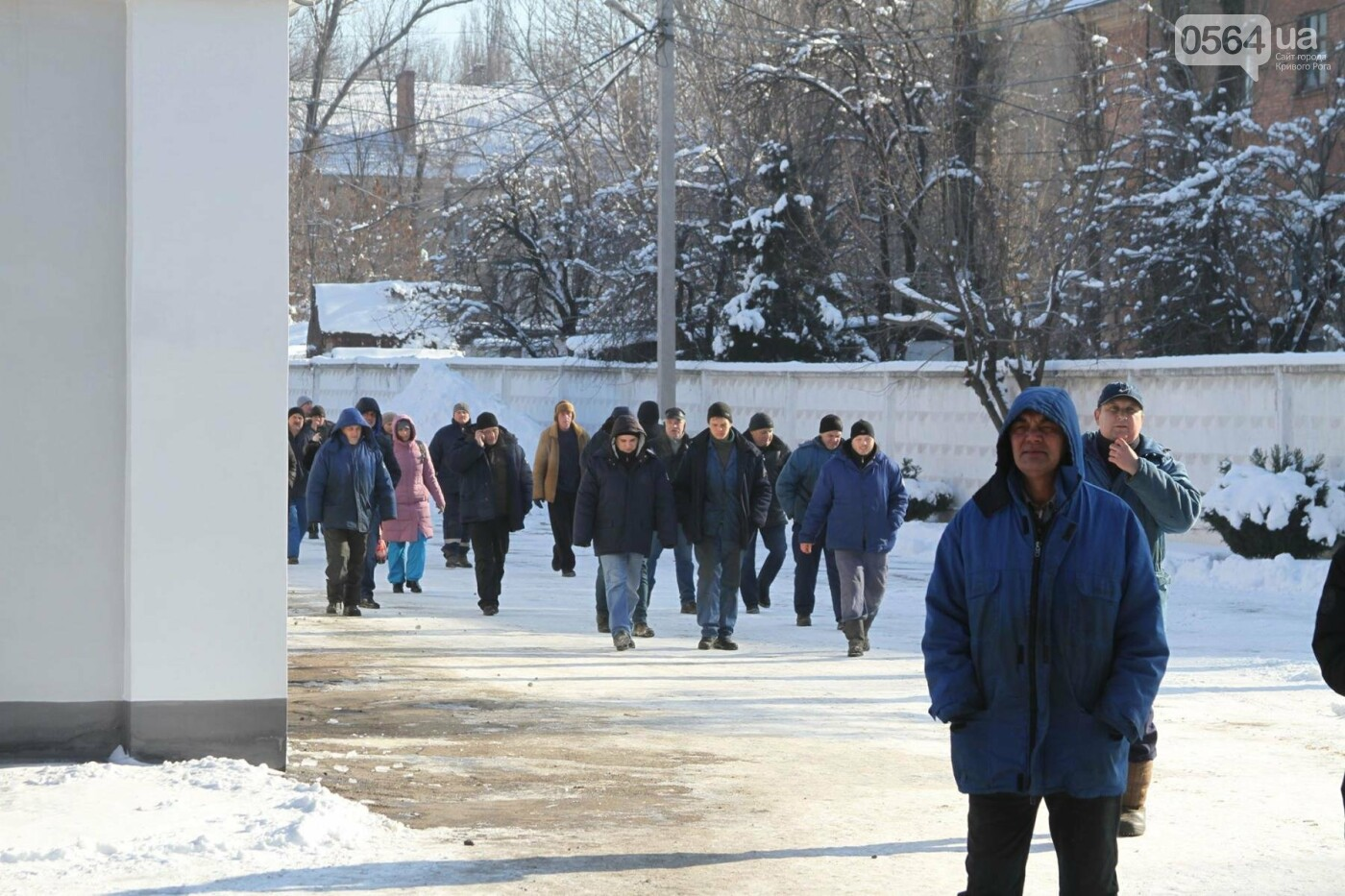 В Кривом Роге сотрудники КПВС митингуют, опасаясь, что город останется без воды  (ФОТО, ВИДЕО), фото-17