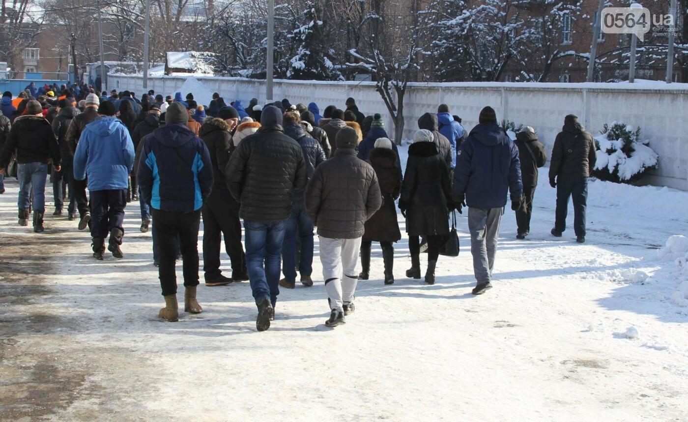 В Кривом Роге сотрудники КПВС митингуют, опасаясь, что город останется без воды  (ФОТО, ВИДЕО), фото-19