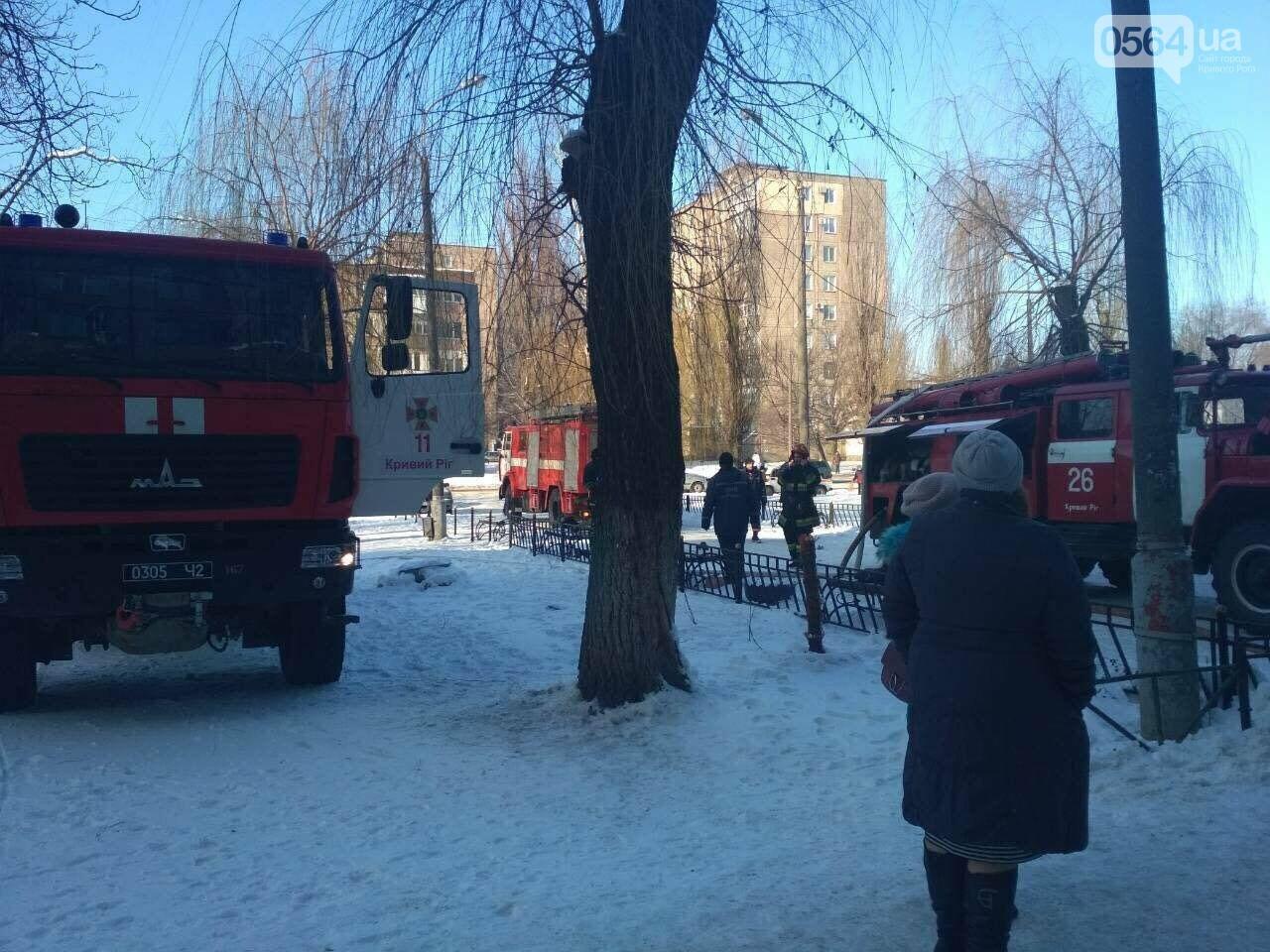 В Кривом Роге: митинговали перед Горводоканалом, горела многоэтажка, на мужчину рухнула ветка , фото-2