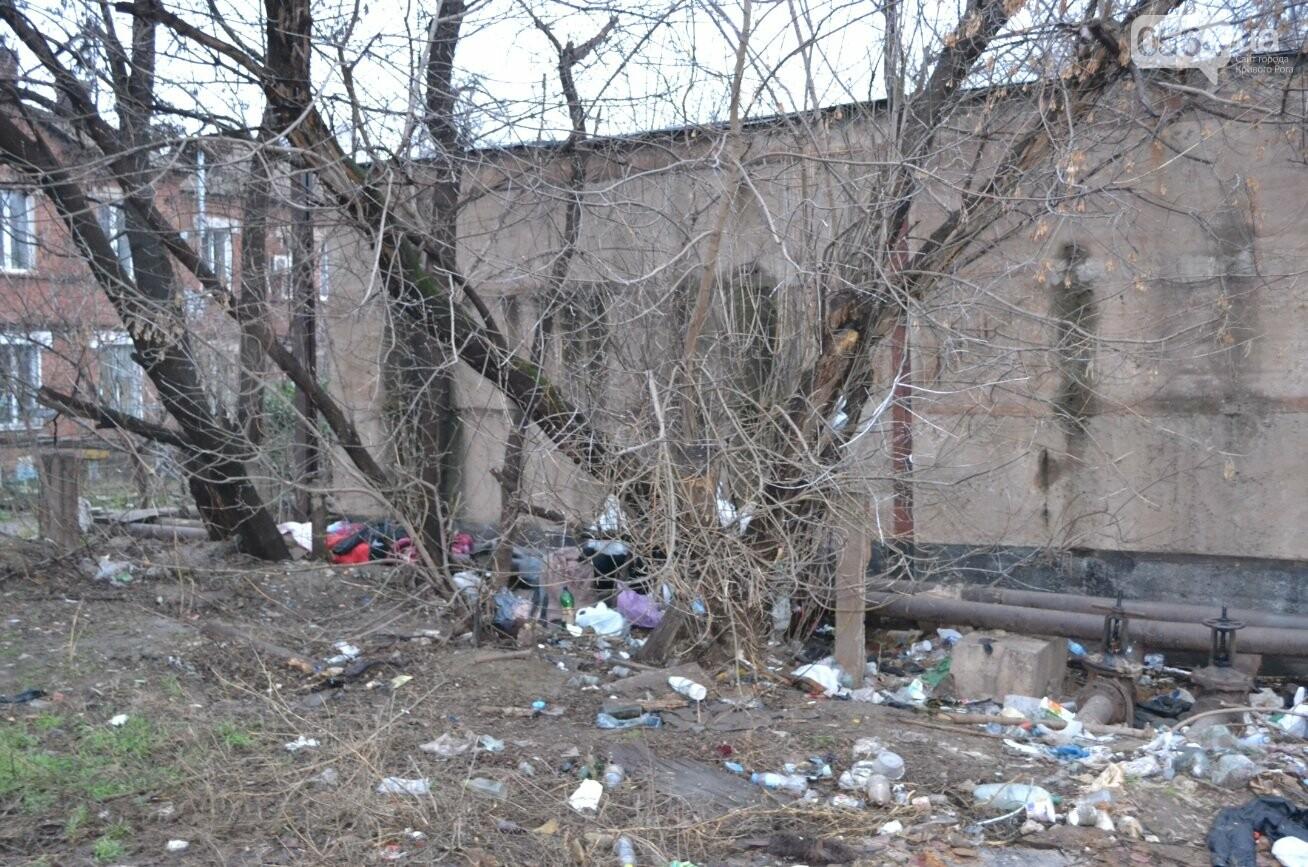 Исторический жилфонд в Кривом Роге: Дырявая кровля, два контейнера для мусора и пристанище для бомжей (ФОТО), фото-8