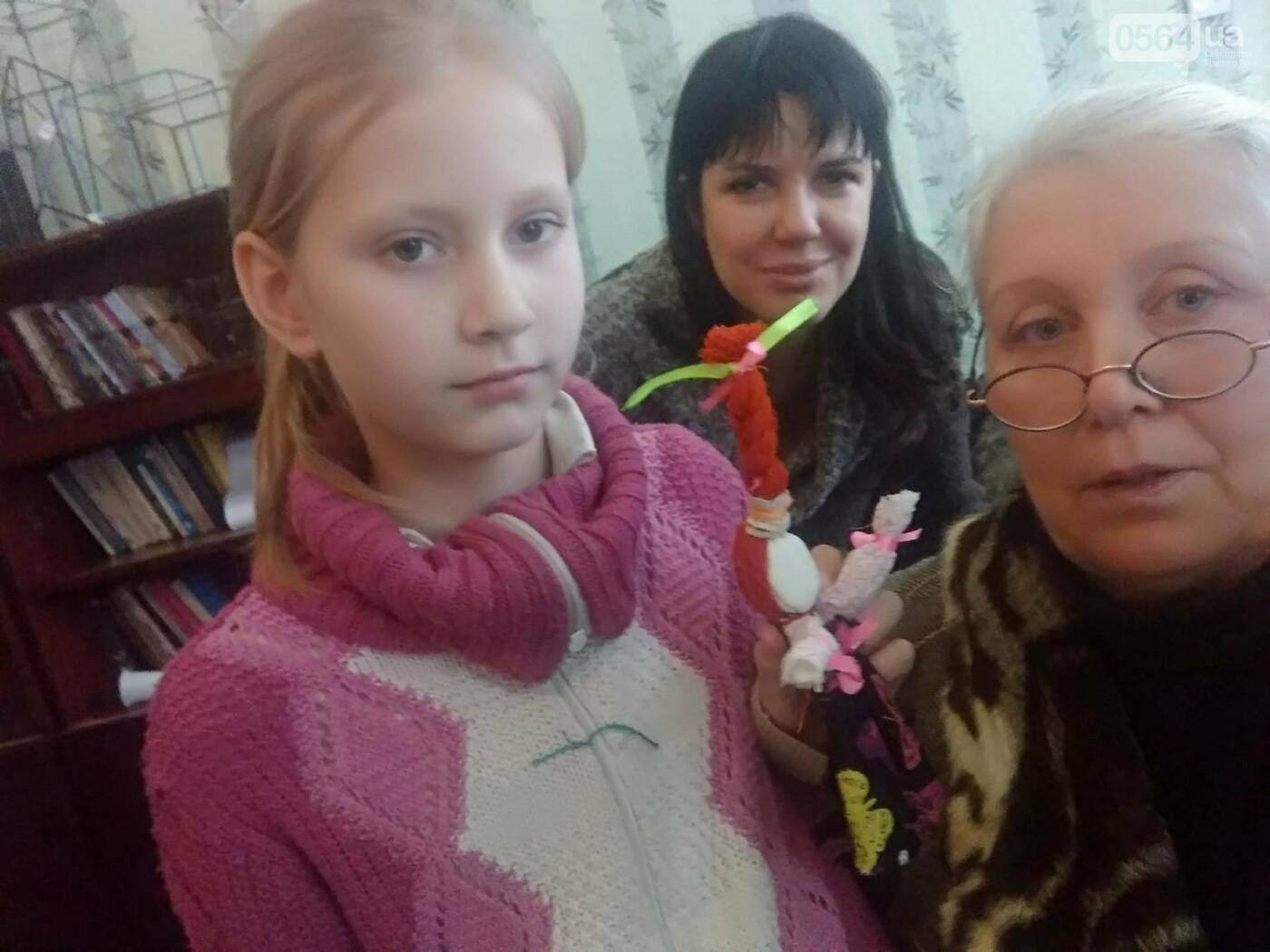 Как изготовить Веснянку? В криворожской школе известная мастерица обучала детей и взрослых премудростям рукоделия (ФОТО), фото-2