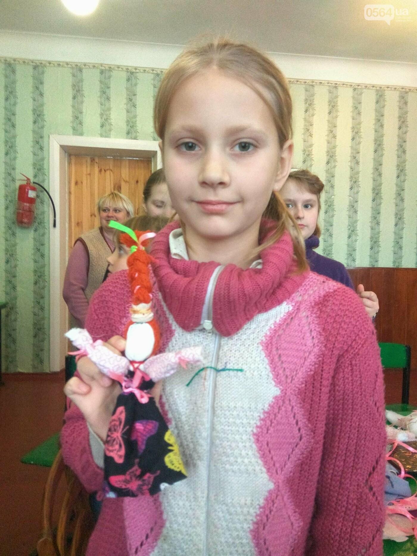 Как изготовить Веснянку? В криворожской школе известная мастерица обучала детей и взрослых премудростям рукоделия (ФОТО), фото-12