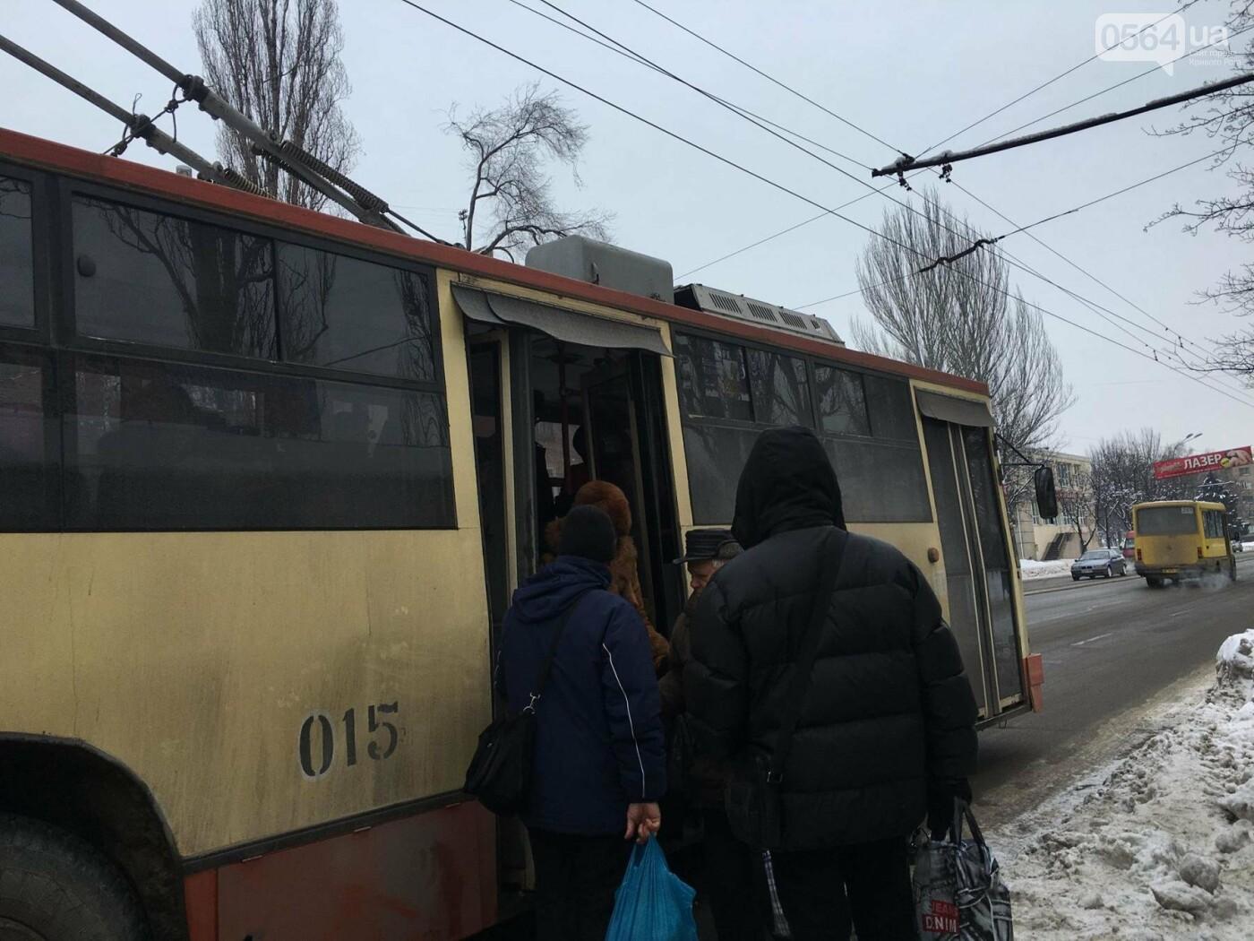 """На улице мороз"": Какая температура в криворожском транспорте (ФОТО), фото-10"
